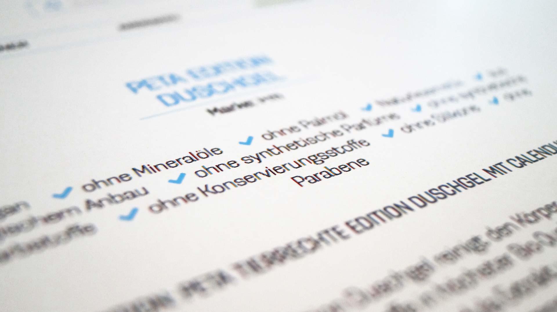 Im cosa Onlineshop kannst du Produkte nach Eigenschaften filtern
