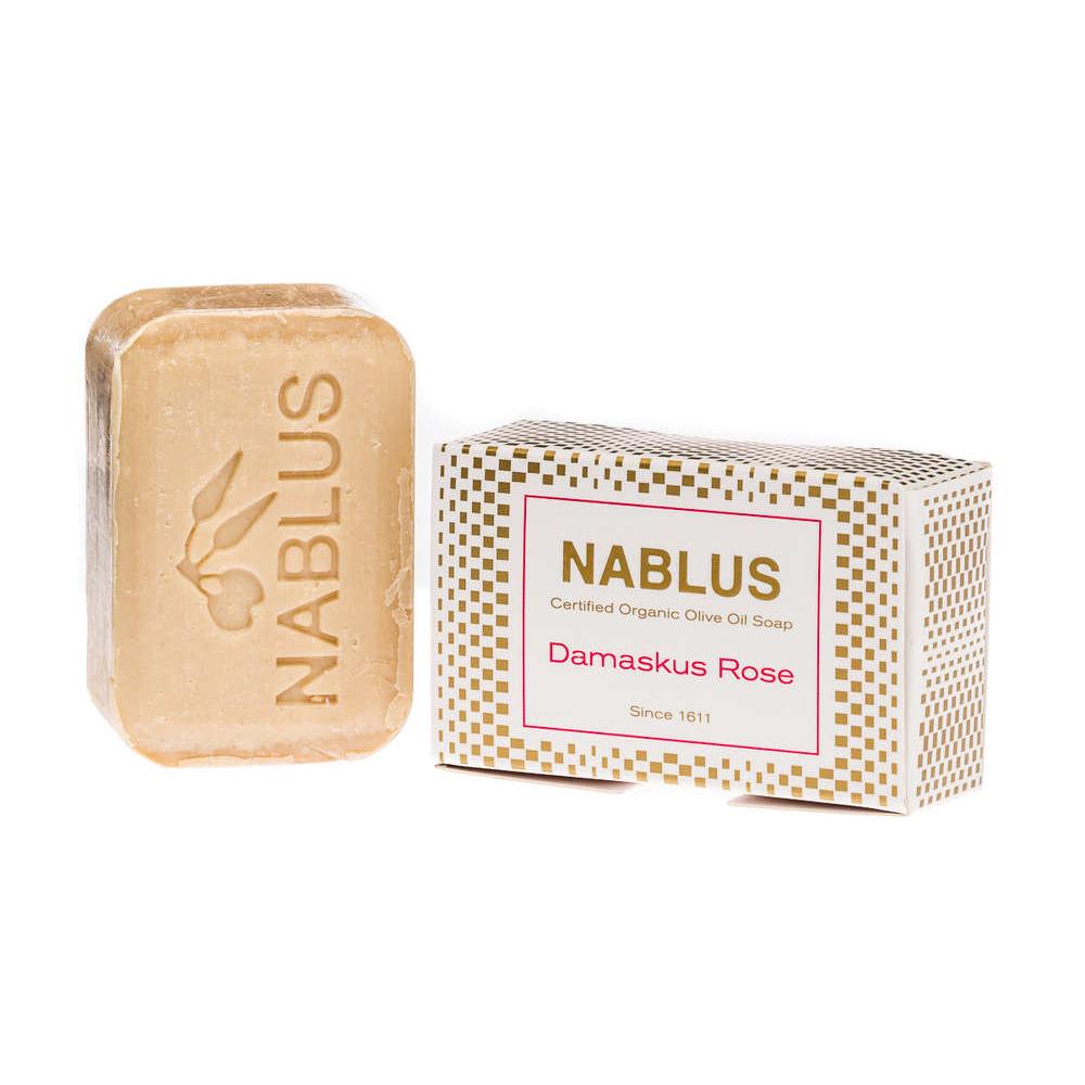 Natürliche Seife Damaskus Rose von Nablus bei cosa Kosmetik.