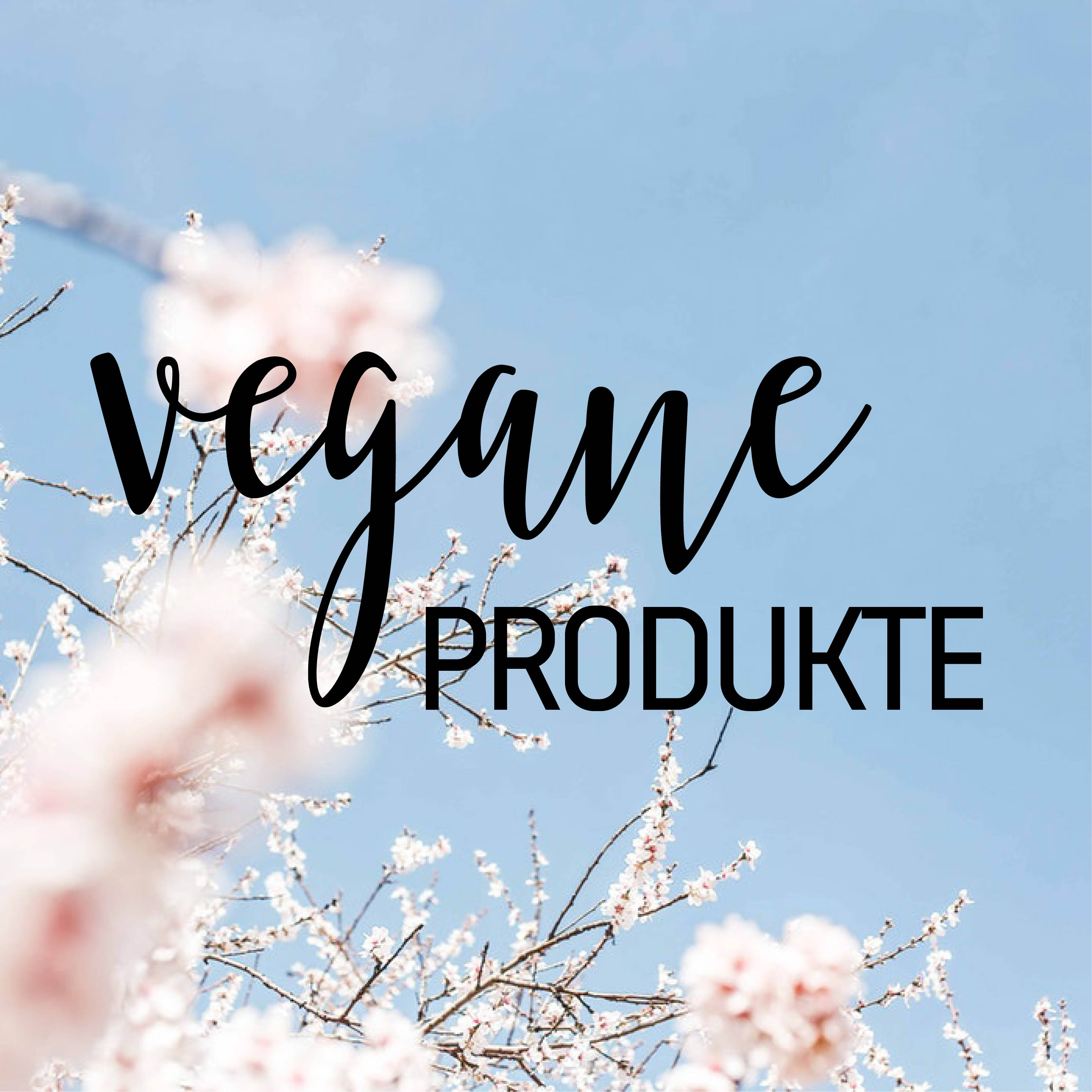 Vegane Produkte.