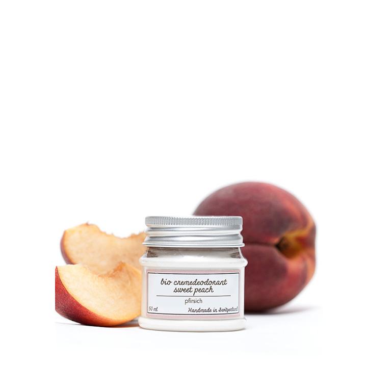 Deocreme Sweet Peach von Ponyhütchen.