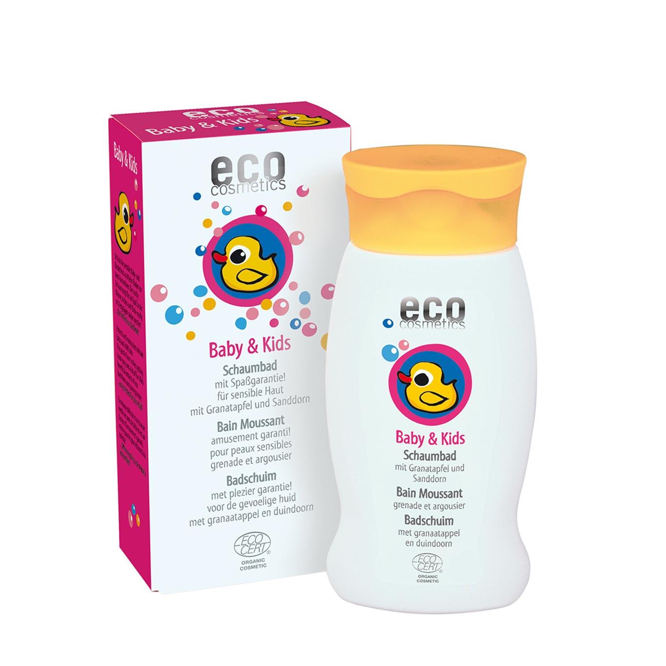 Bio-Schaumbad für Babies.
