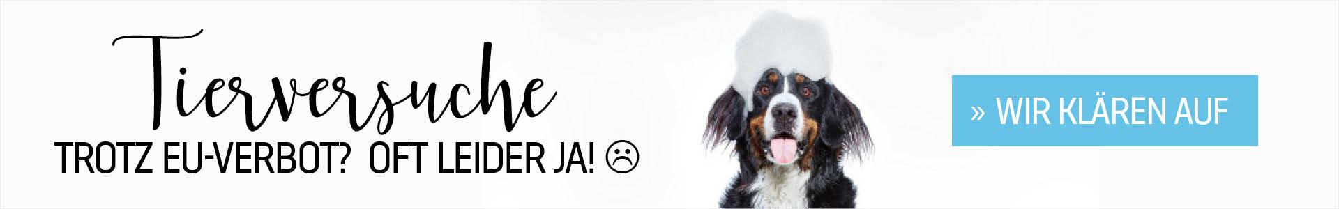 Tierversuche für Kosmetika trotz EU-Verbot | cosa Kosmetik bietet nur Kosmetik- und Hygieneartikel ohne Tierversuche