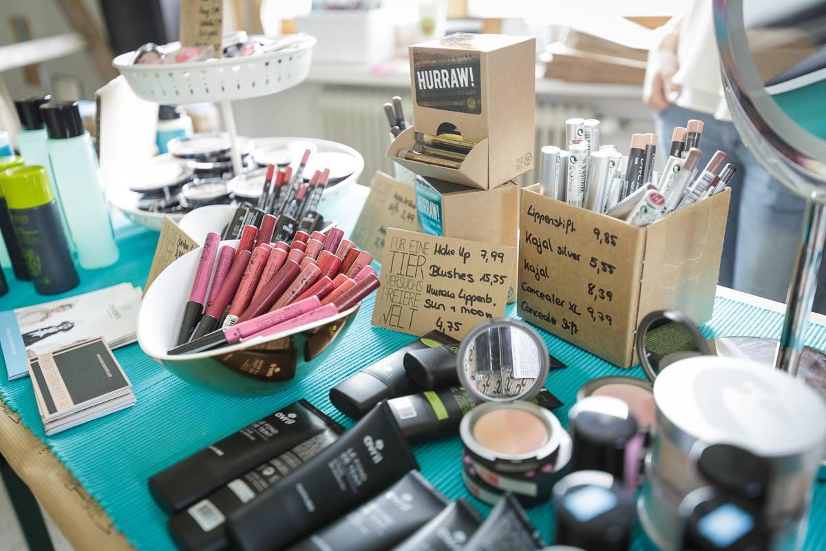cosa-Kosmetik beim Finest #2 Designmarkt.