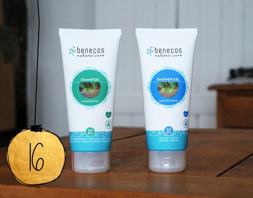 Weihnachtsaktion: Shampoo und Spülung Melisse von benecos.