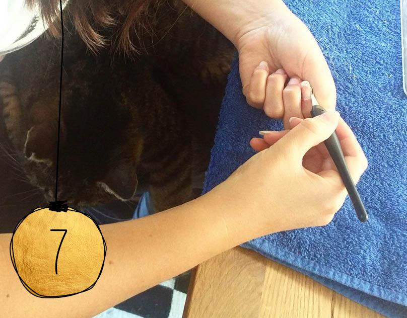 cosa Adventskalender –20% Rabatt auf den Nagelhautschneider von Avril.
