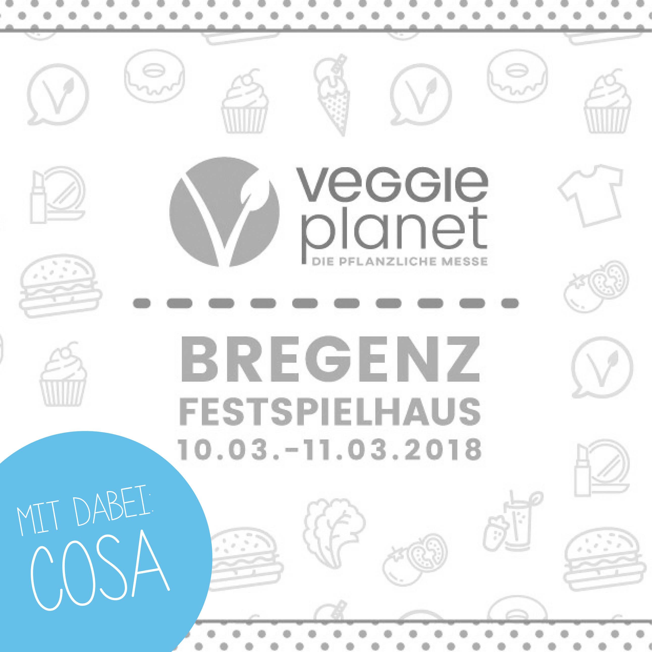 cosa Kosmetik auf der Veggie Planet Bregenz
