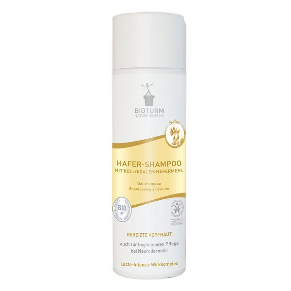 Das Hafer-Shampoo für trockene, schuppige Kopfhaut von Bioturm