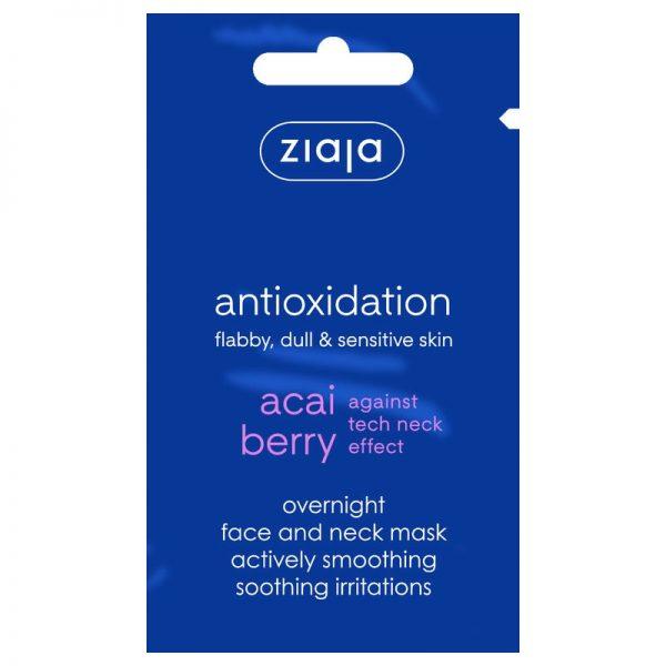 Pflegende Gesichtsmaske mit Acaibeere von Ziaja