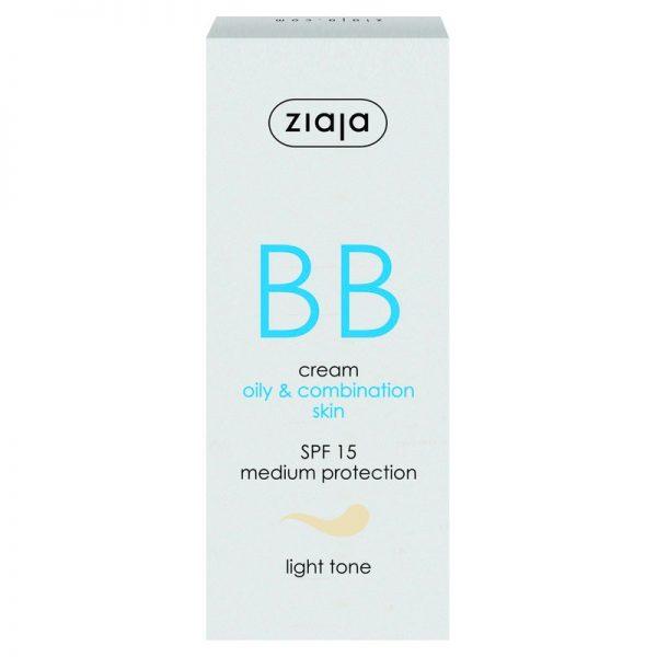Die BB Cream für fettige Haut und Mischhaut in hell von Ziaja