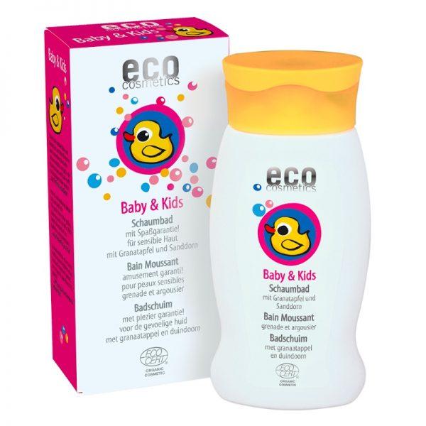 Das milde Schaumbad für die zarte Kinder- und Babyhaut von eco cosmetics