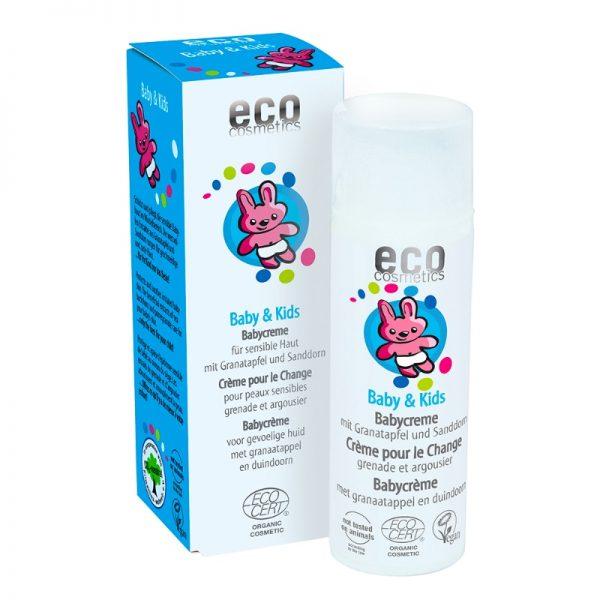 Die Bio-Babycreme für den Windelbereich von eco cosmetic