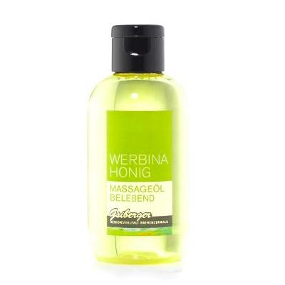 Das belebende Massageöl mit Honig von Werbina Honig