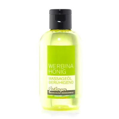 Das beruhigende Massageöl mit Honig von Werbina Honig