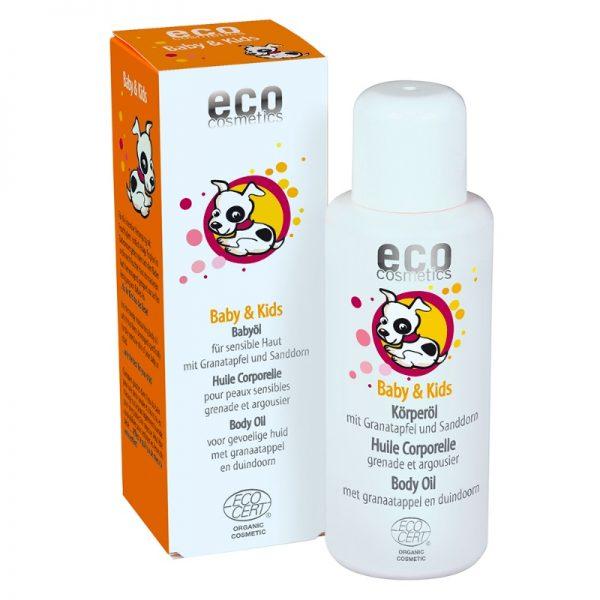 Das Bio-Babyöl von eco cosmetics