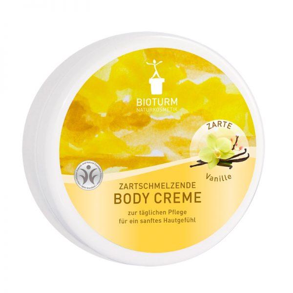 Die Bodycreme mit Vanille-Duft von Bioturm