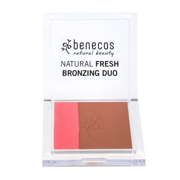Bronzer und Rouge Duo in California Nights von Benecos