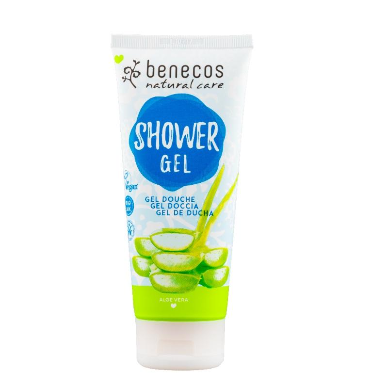 Das Naturkosmetik-Duschgel mit Aloe Vera von Benecos