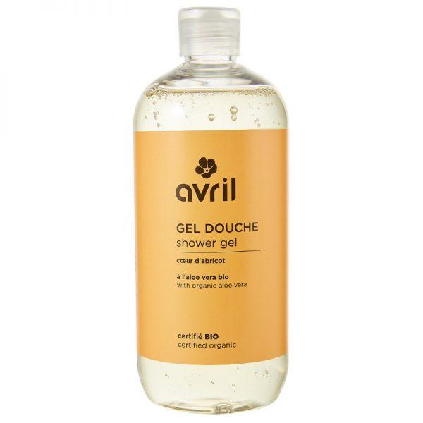 Das Duschgel mit Aprikose und Mandel von Avril