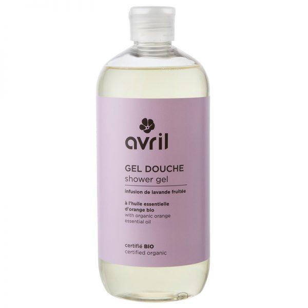 Das natürliche Duschgel mit Lavendel-Orangen-Duft von Avril