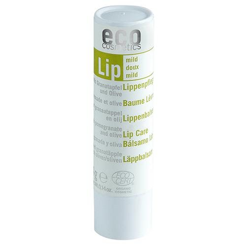 Der Lippenpflegestift mit Granatapfel und Olivenöl von Eco Cosmetics