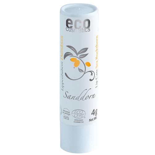 Der Lippenpflegestift mit Sanddorn von Eco Cosmetics