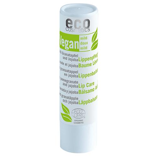 Der vegane Lippenpflegestift mit Granatapfel und Jojoba von eco cosmetics