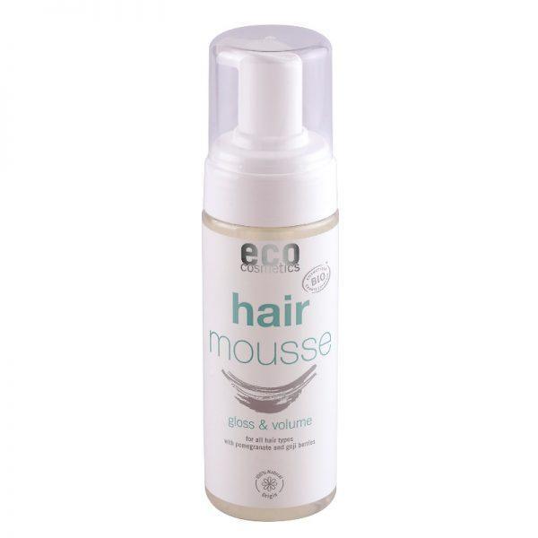 Der Haarschaum mit Granatapfel und Gojibeere von eco-cosmetics