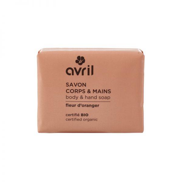 Die Hand- und Körperseife mit Orangenblüten-Duft von Avril