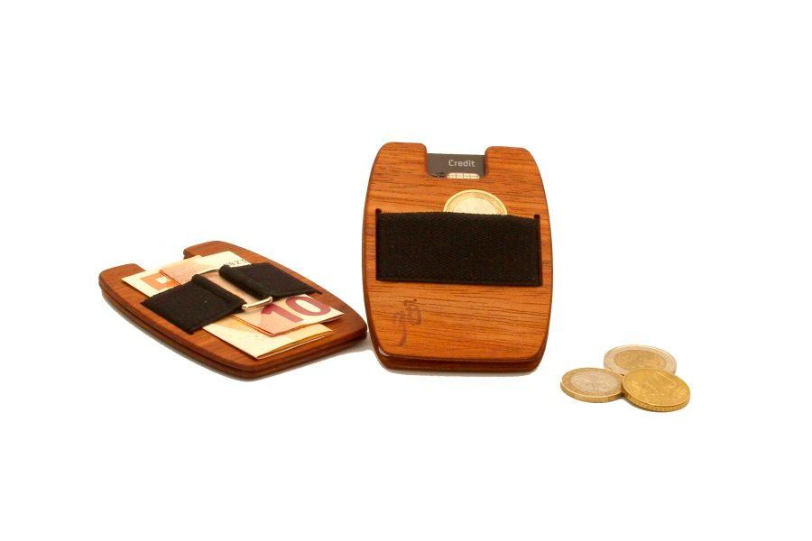 Die Holzgeldtasche aus Jatobaholz von gô for nature