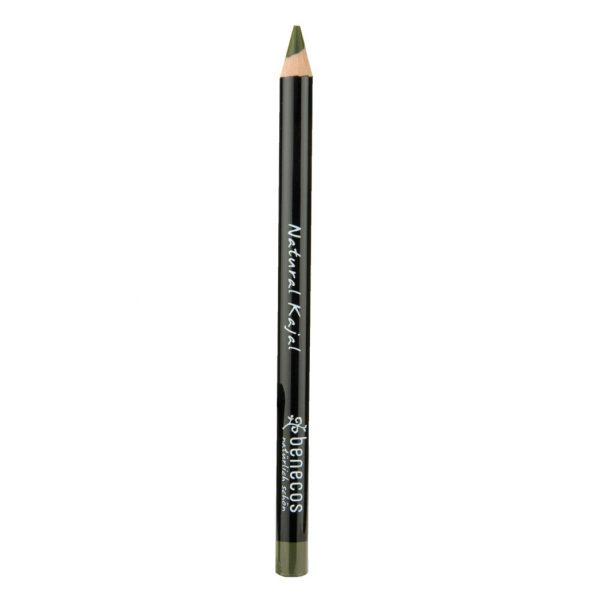 Der Augenkajalstift in Olivgrün von Benecos