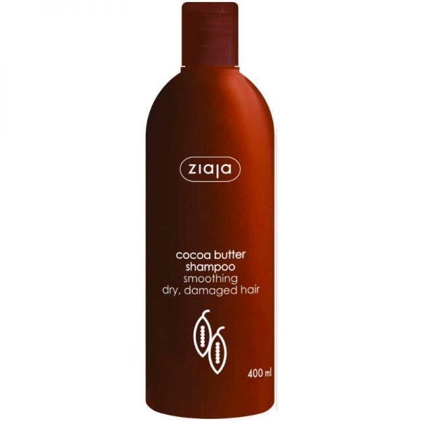 Das Kakaobutter-Shampoo von Ziaja