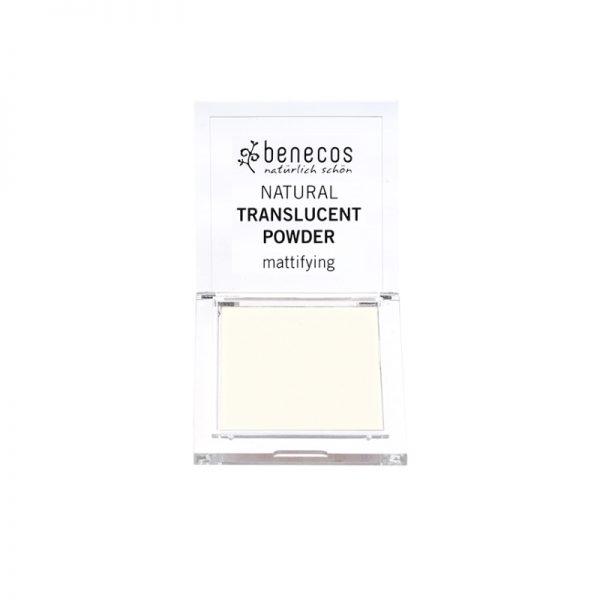 Kompaktes Translucent-Puder von Benecos