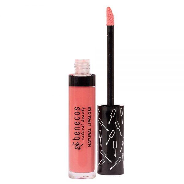 Der Lipgloss in Flamingo von Benecos