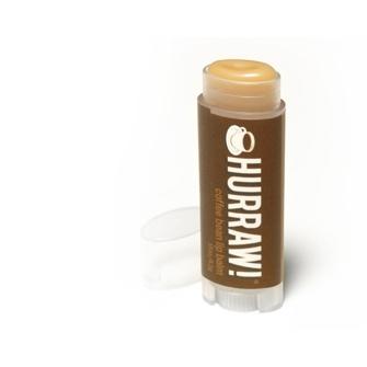 Der natürliche Lippenbalsam mit Kaffeegeschmack von Hurraw!