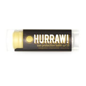 Lippenbalsam mit LSF 15 von Hurraw!