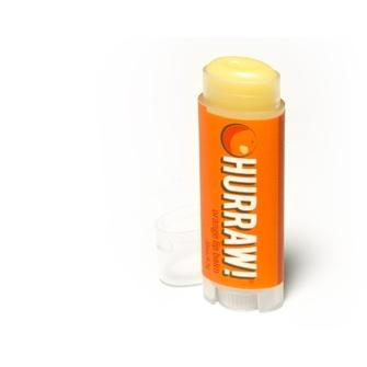 Der natürliche Lippenbalsam mit Orangengeschmack von Hurraw!