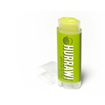 Lippenbalsam mit dem Geschmack von grünem Tee von Hurraw!