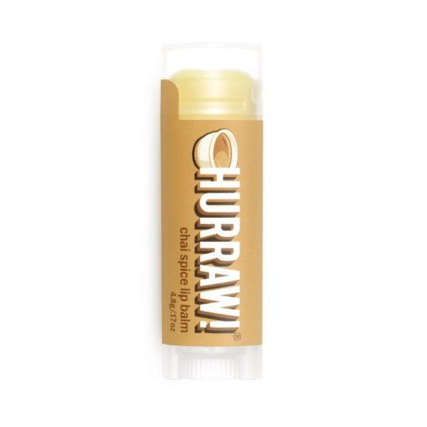 Veganer Lippenbalsam mit Chai-Tee-Geschmack von Hurraw!