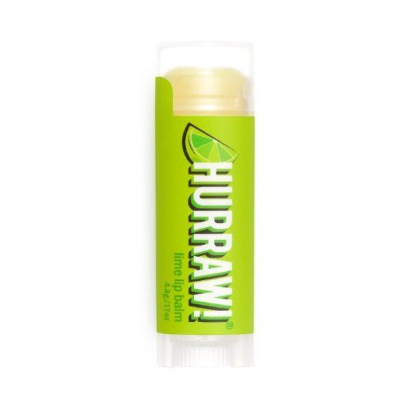 Natürlicher Lippenbalsam mit Limettengeschmack von Hurraw!