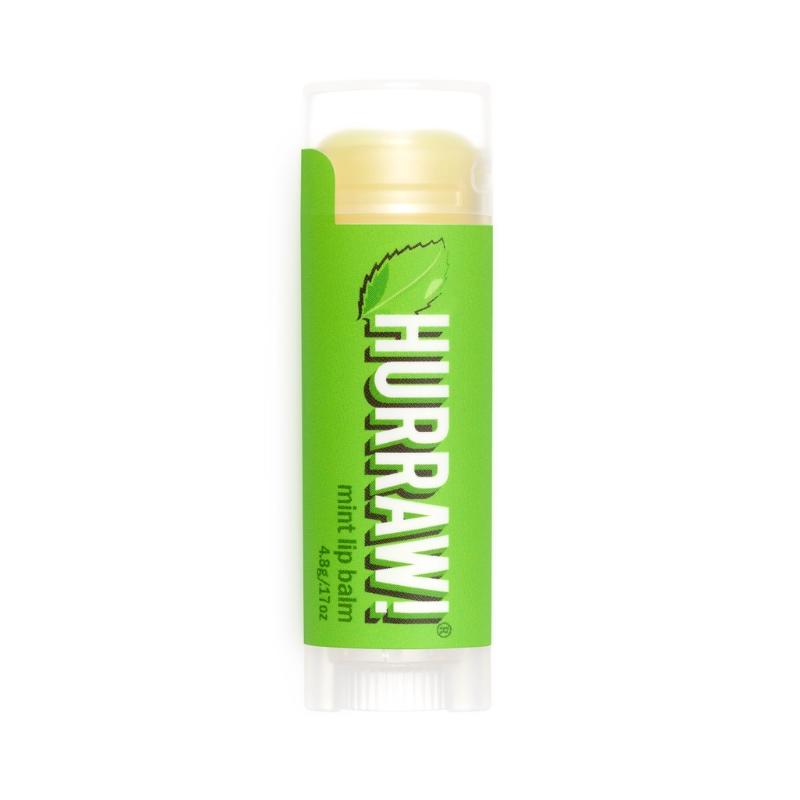 Natürlicher Lippenbalsam mit Minzgeschmack von Hurraw!