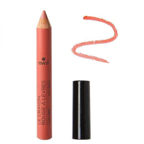 Der matte Jumbo-Lippenstift in Rose Délicat von Avril