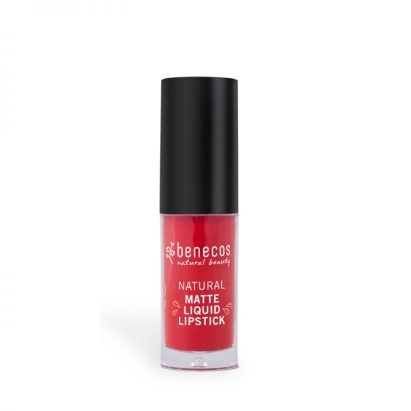 Der langanhaltende Liquid Lipstick in Trust in Rust von benecos
