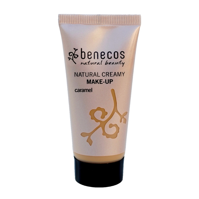 Das Creme-Make-Up in Caramel von Benecos
