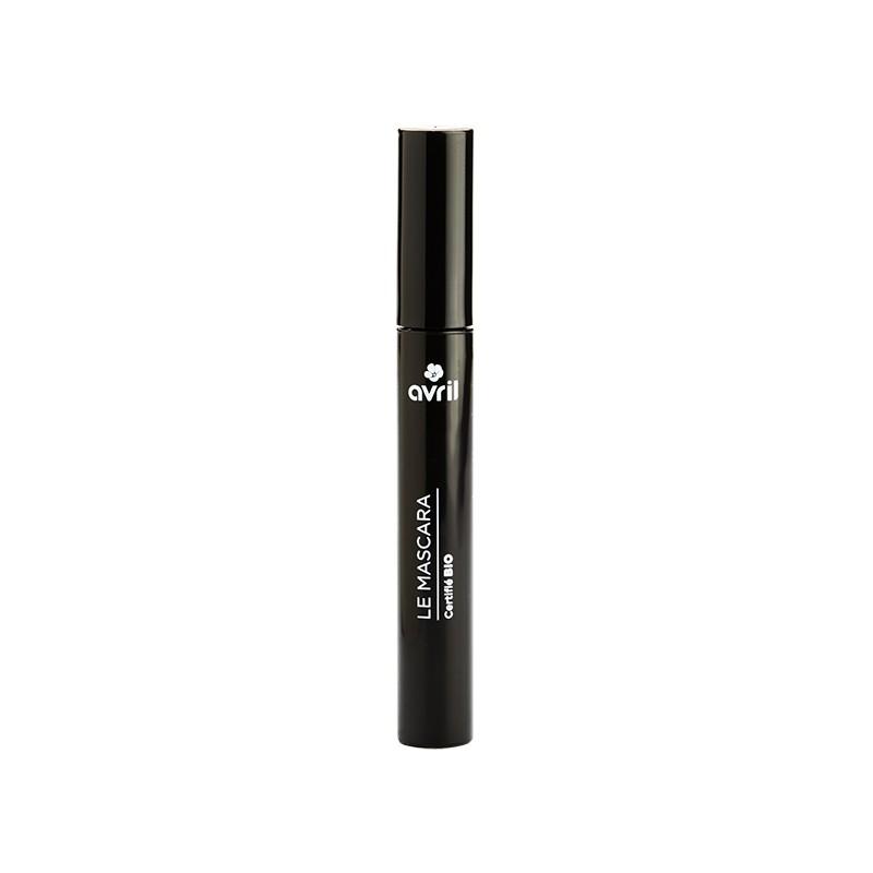 Die Naturkosmetik-Mascara in schwarz von Avril