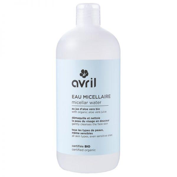 Das sanfte Mizellenwasser zur Make-up-Entfernung von Avril