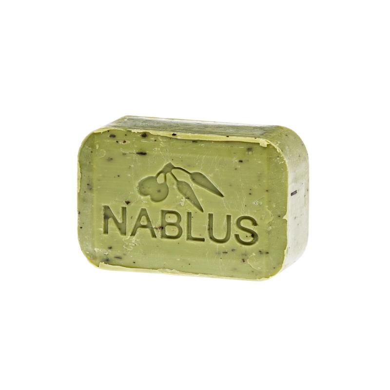 Die Nablus Seife mit natürlichem Olivenöl und Salbei