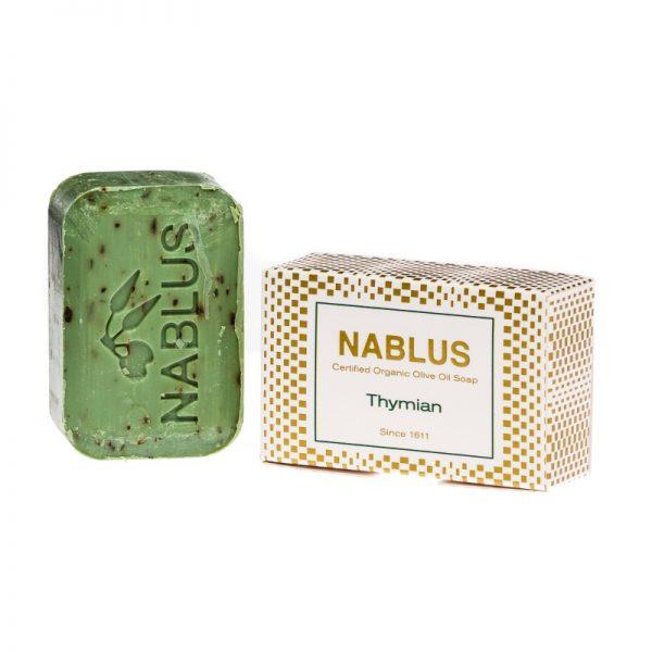 Seife mit natürlichem Olivenöl und Thymian von Nablus
