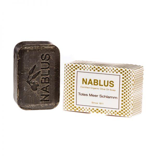 Die Nablus Seife mit natürlichem Olivenöl und Schlamm aus dem toten Meer