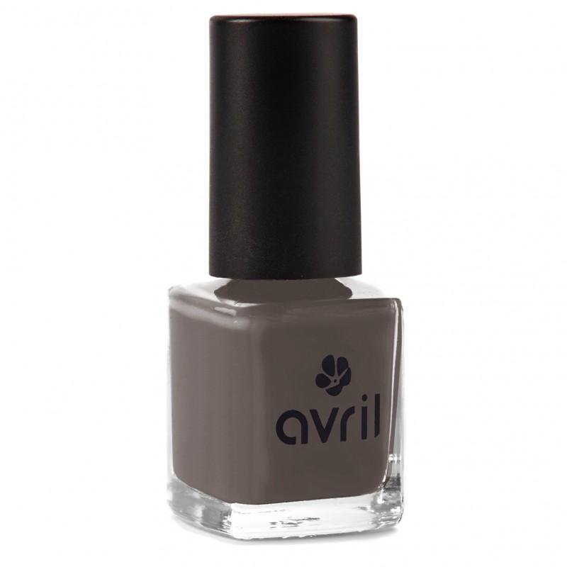 Der langanhaltende Nagellack in einem eleganten Grau von Avril