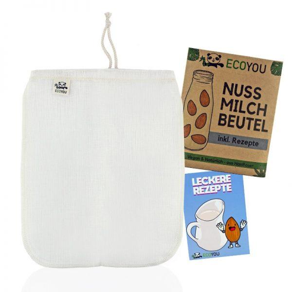 Der Nussmilchbeutel zur Herstellung von Milchalternativen von ECOYOU